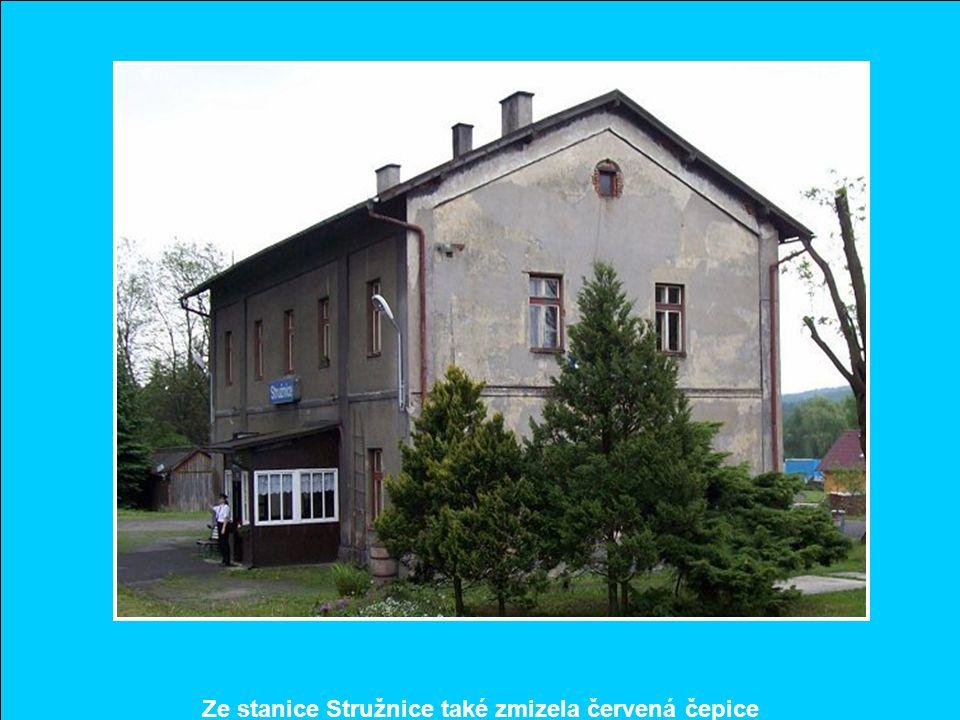 Proč bývalá stanice dostala název Horní Police, když je blízko města Žandova, nevím? Ale nádražní budova je to pěkná, zcela ve stylu budov BNB