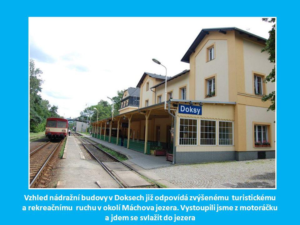 Do pohraniční stanice Dolní Poustevna bylo možno se dostat v r.