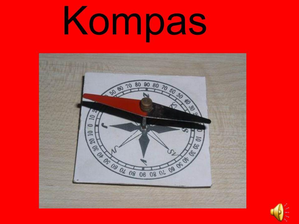 Kompas je přístroj určující světové strany pomocí magnetické střelky otáčivé ve vodorovné rovině.