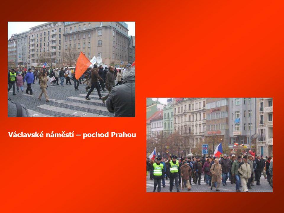 Policie jde s vámi, občany této republiky (mluví zástupce nezávislých odborů Policie ČR)
