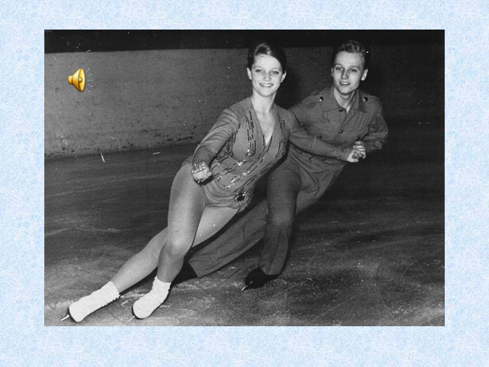 Začátek tanců na ledě – Kladno 1959 V Davosu 1959 ale jeli sportovní dvojice i tance