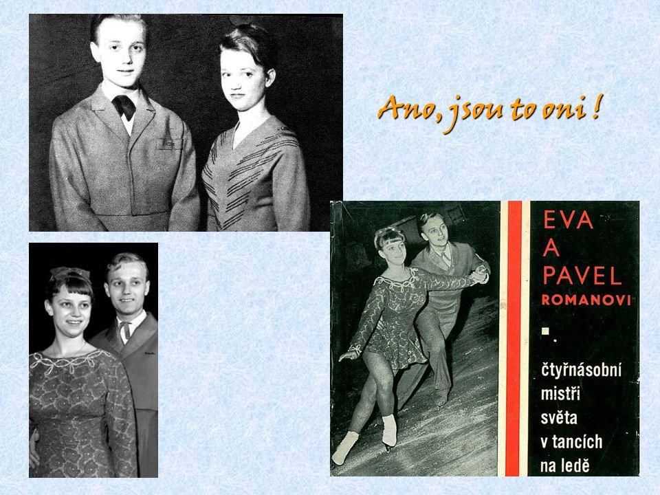 Při vrcholovém sportu oba úspěšně odmaturovali - Eva na Umělecko průmyslové a Pavel na Střední průmyslové škole v Praze