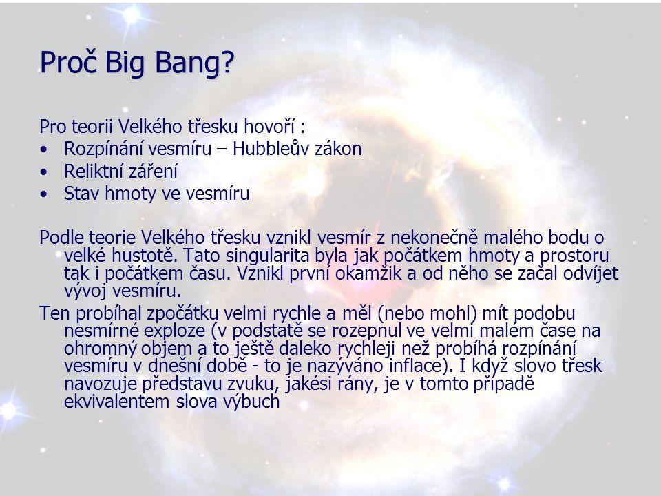 Teorie stacionárního vesmíru •Vypracovali ji Bondi a Hoyle.