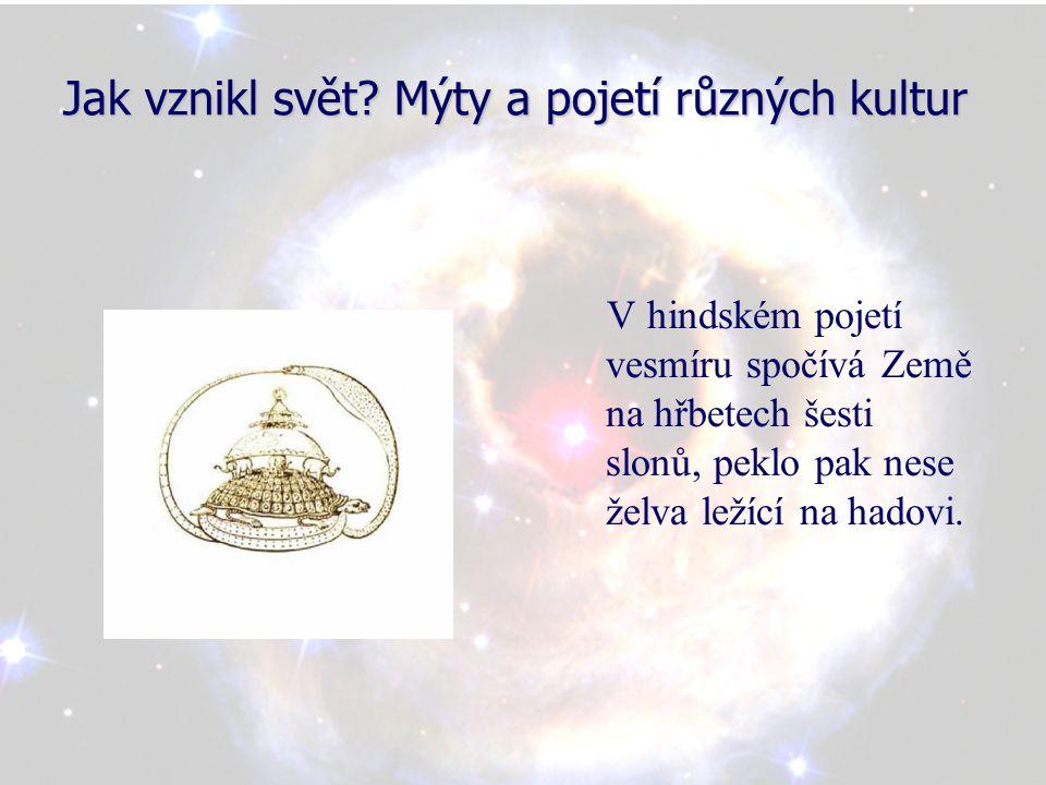 Jak vznikl svět.Mýty a pojetí různých kultur Severská kosmologie rozeznává devět světů.
