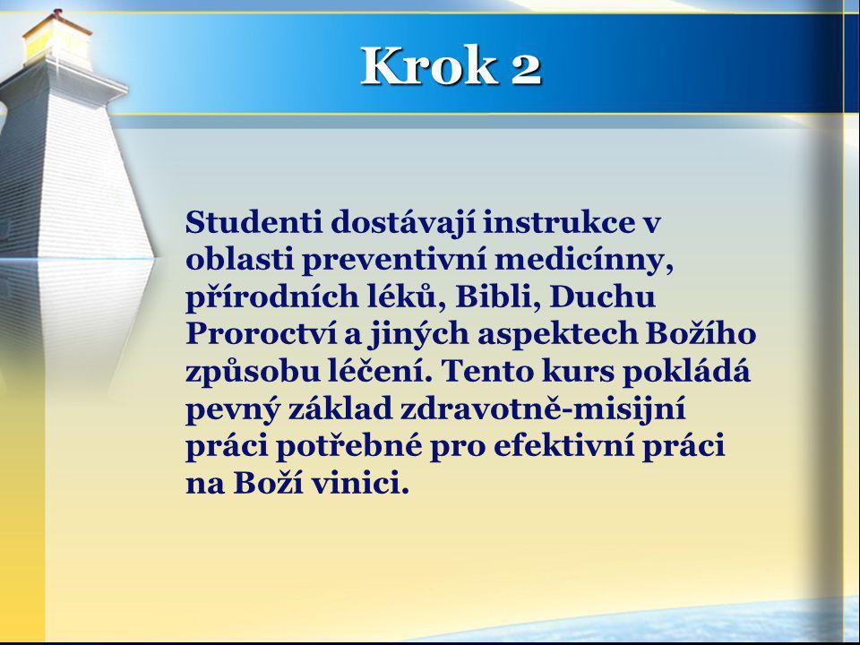 Studenti dostávají instrukce v oblasti preventivní medicínny, přírodních léků, Bibli, Duchu Proroctví a jiných aspektech Božího způsobu léčení.