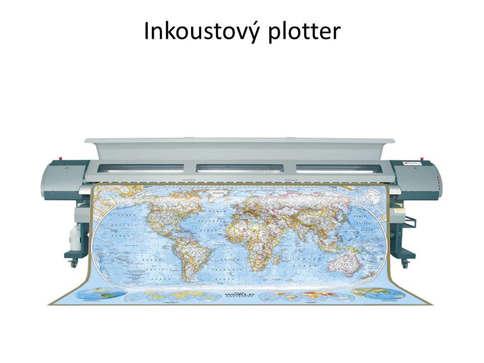 Inkoustový plotter