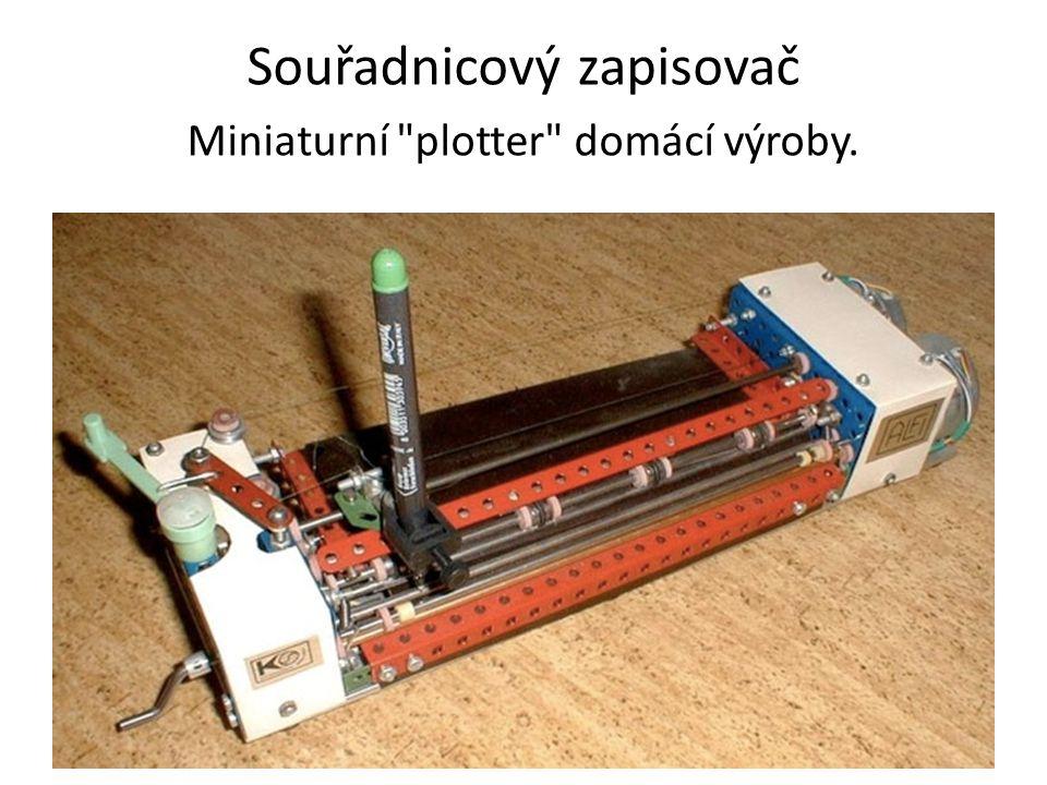 Souřadnicový zapisovač Miniaturní