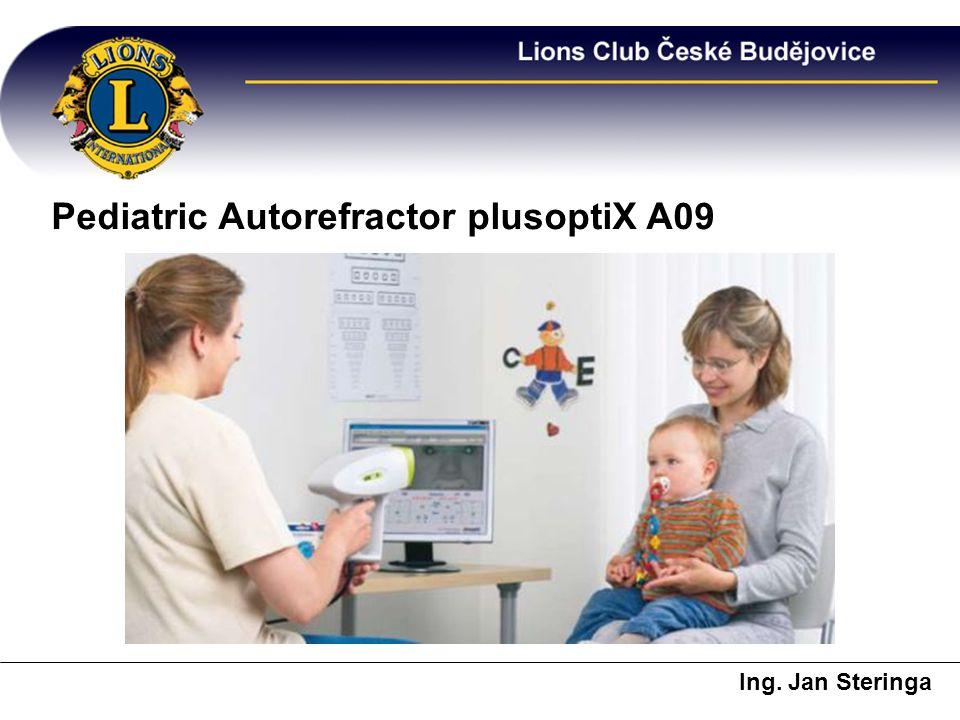 Pediatric Autorefractor plusoptiX A09 Ing. Jan Steringa