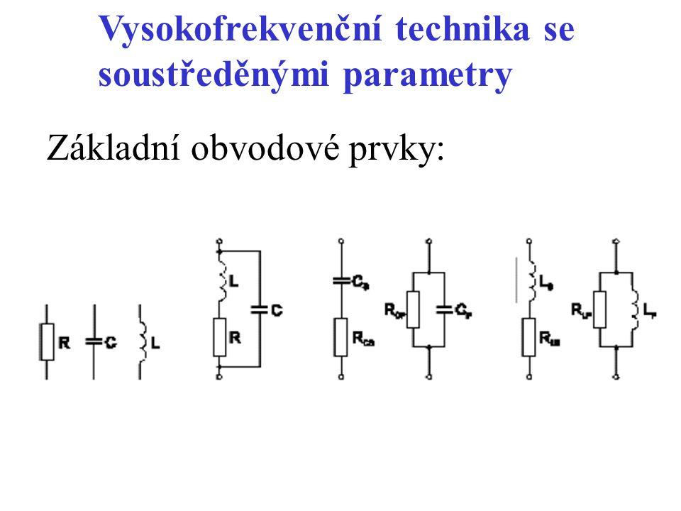 Rezonanční kmitočet se rovná geometrickému průměru kmitočtů a tj.