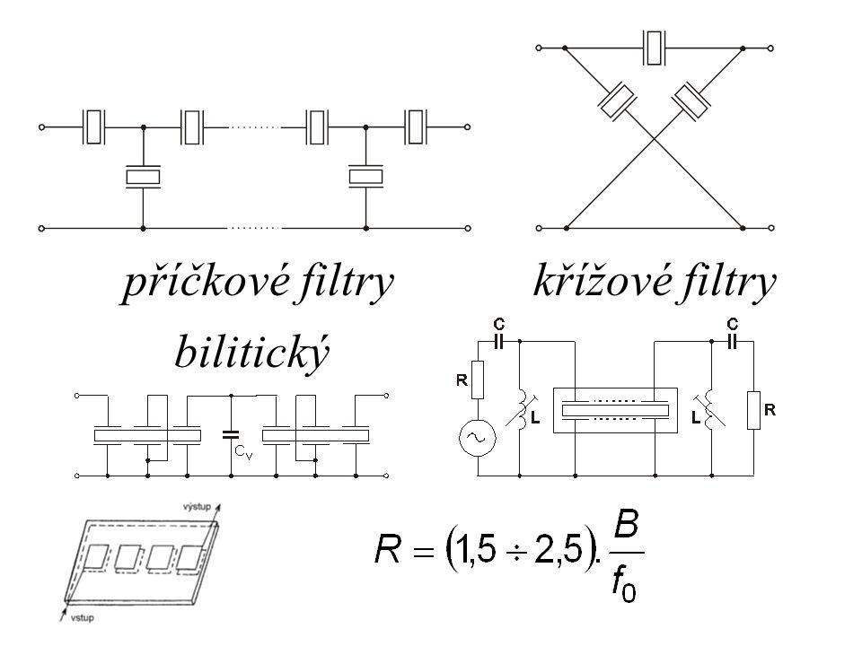 příčkové filtrykřížové filtry bilitický