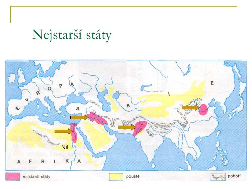 Nejstarší státy Nil