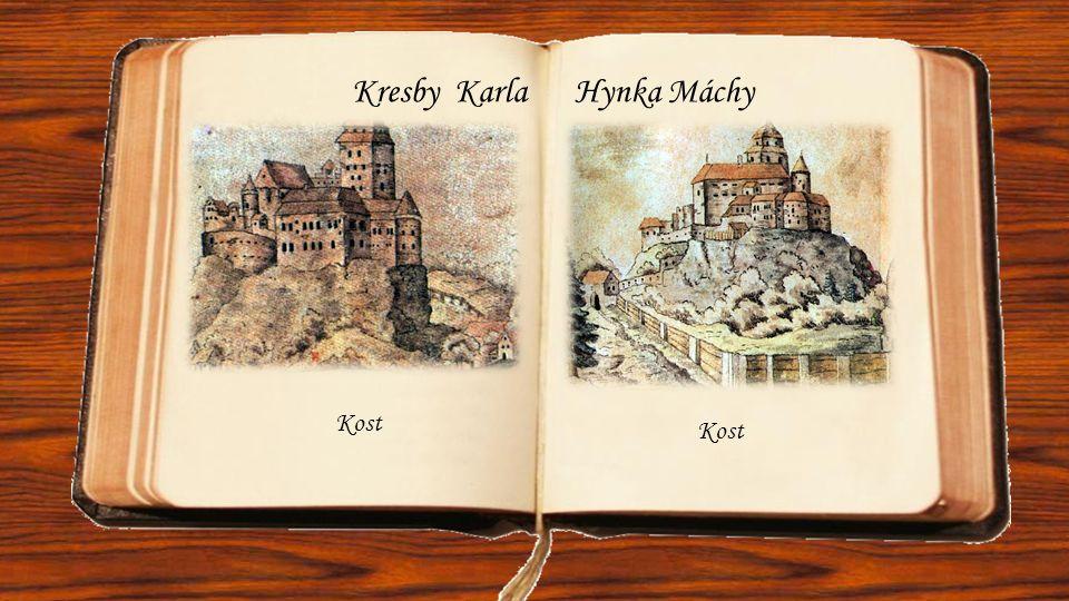 Kresby Karla Hynka Máchy Kost