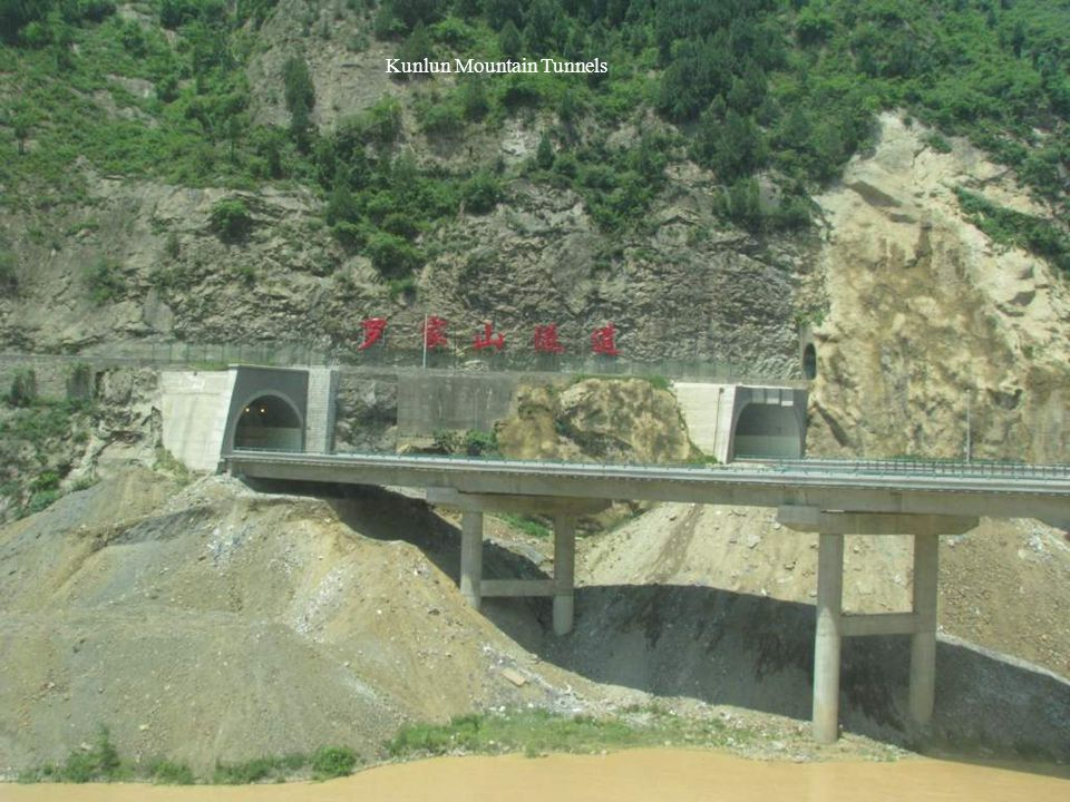 Kunlun Mountain Tunnels
