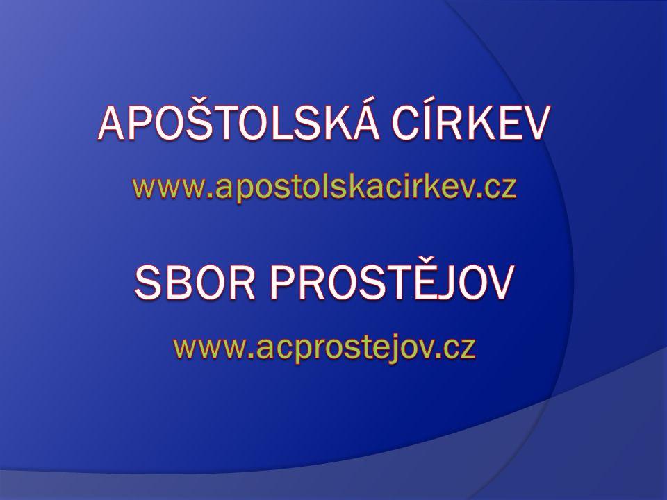 Apoštolská církev v ČR  patří mezi křesťanské evangelikální církve  řadí se k tzv.