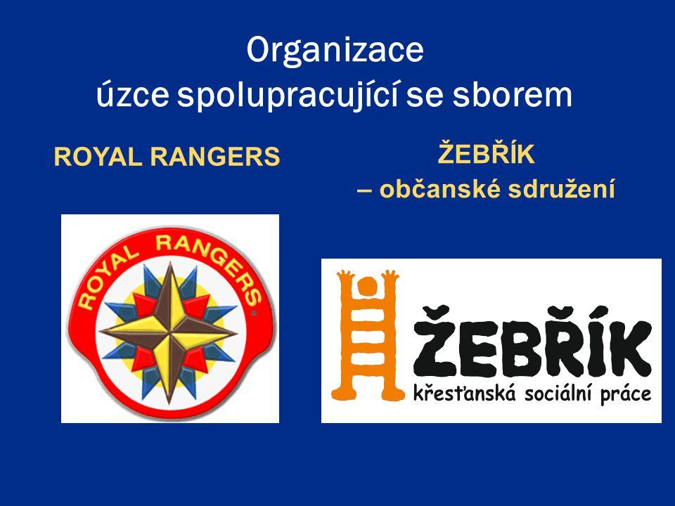 Organizace úzce spolupracující se sborem ROYAL RANGERS ŽEBŘÍK – občanské sdružení