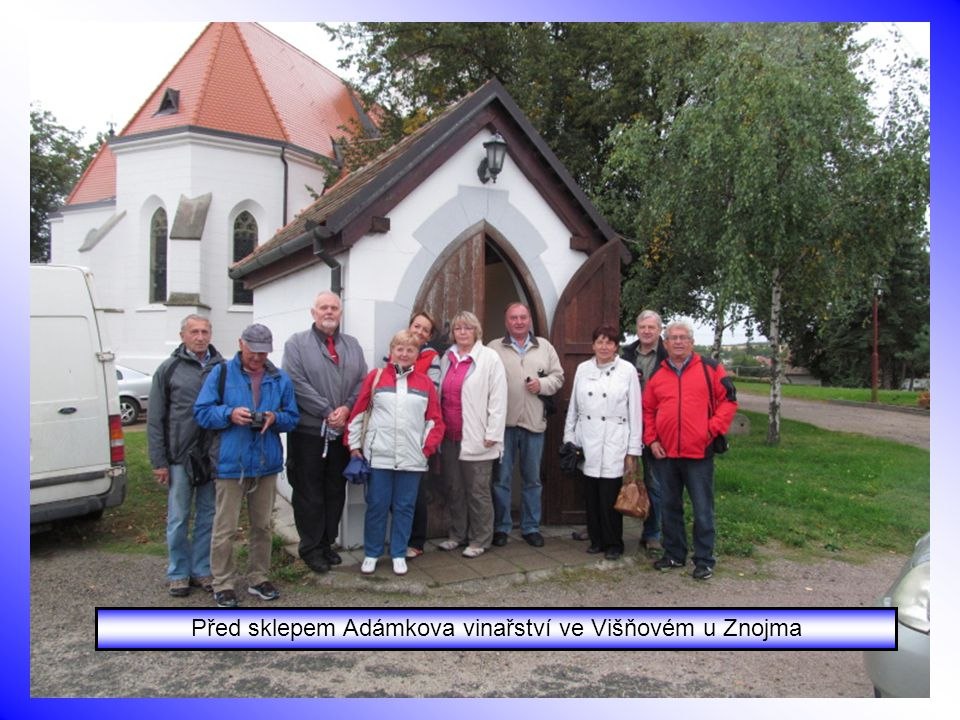 16.-18.9. Podzimní akce Klubu CV – Dukovany a Višňová