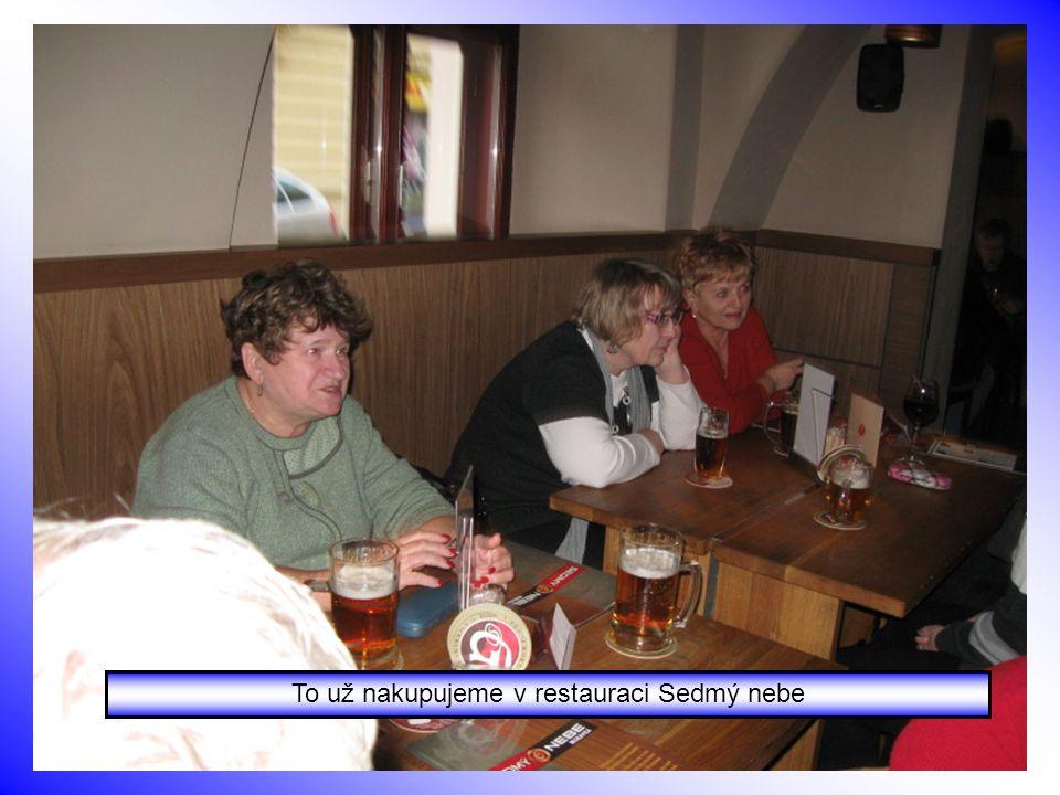 Společný oběd v Hotelu Viktoria