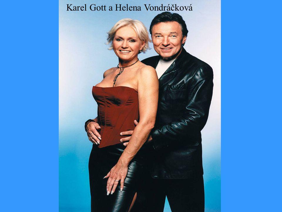 Karel Gott a Helena Vondráčková