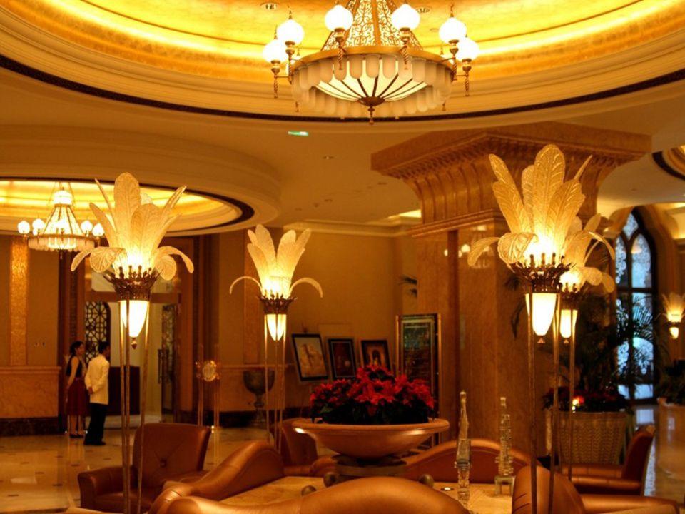 Hotel Emirates Palace v Abú Zabí