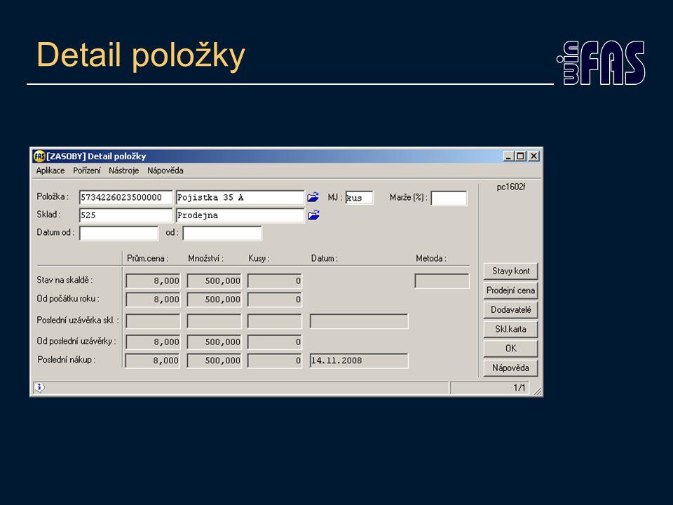 Třetí adresa •Hlavička dokladu – záložka ostatní •Možnost označení typu –Bez určení –Podání/ dodání –Fakturační –Poštovní •Automatické umístění a označení na DL a fa.