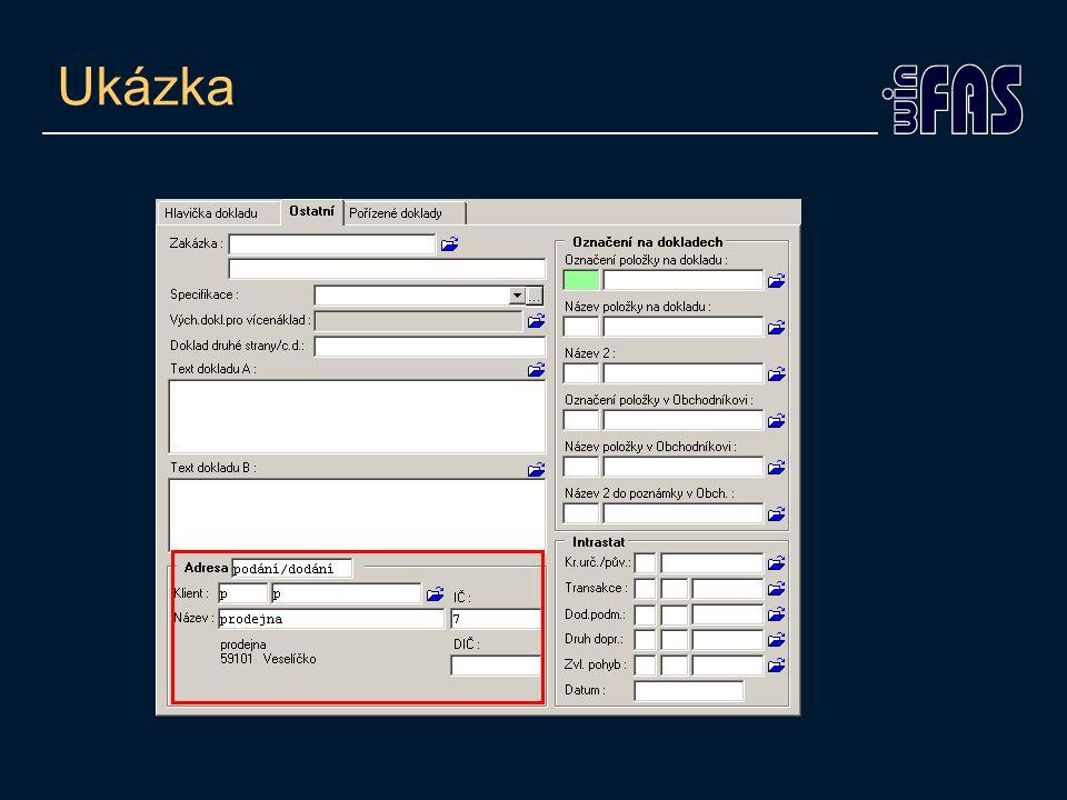 KUK na položky – typ seznamu •Již v KUKu potřebuji vidět jiný stav, než fyzický •Kde nastavit – šablona pořízení položek