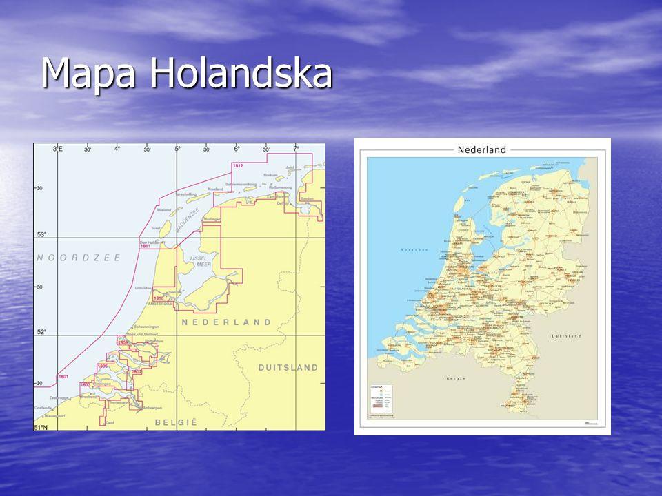Mapa IJsselmeer, Friesland, Waddenzee