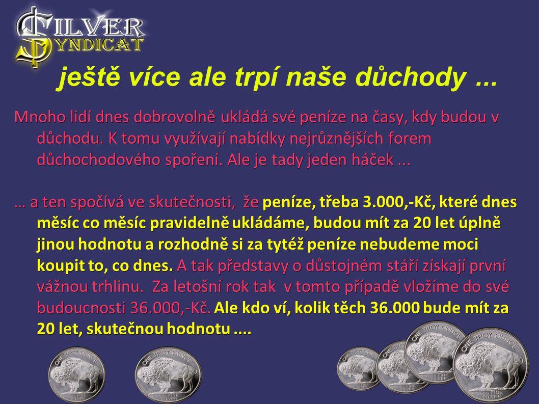 Organizovaný trh se vzácnými kovy - Doposud pro potřeby drobných investorů nefungoval v ČR žádný organizovaný trh.