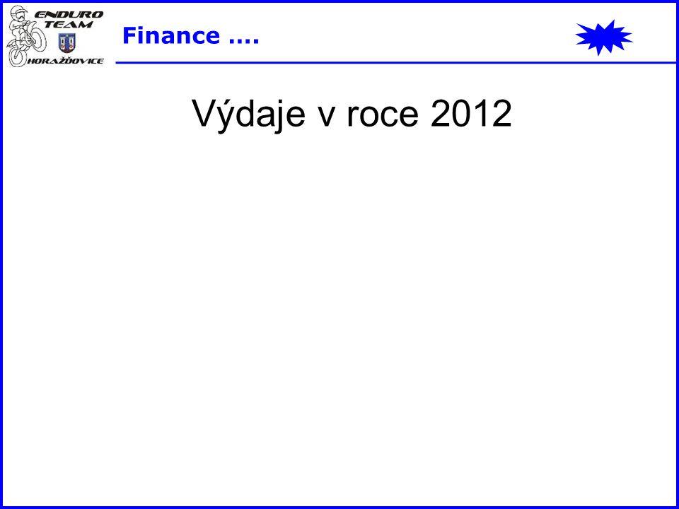 Výdaje v roce 2012