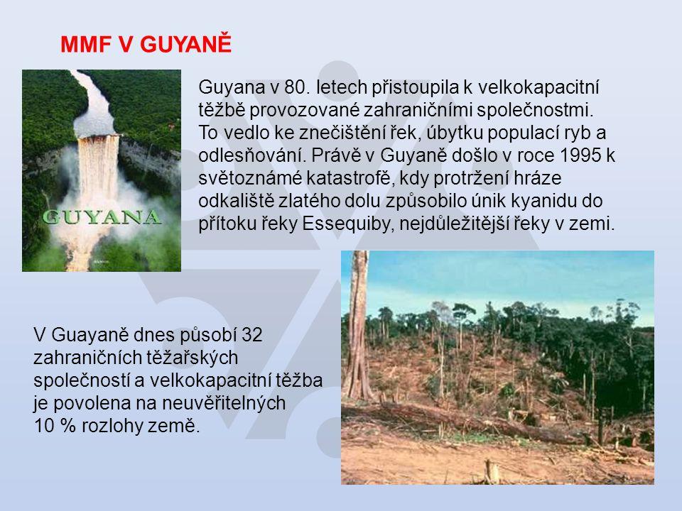 MMF V GUYANĚ Guyana v 80.