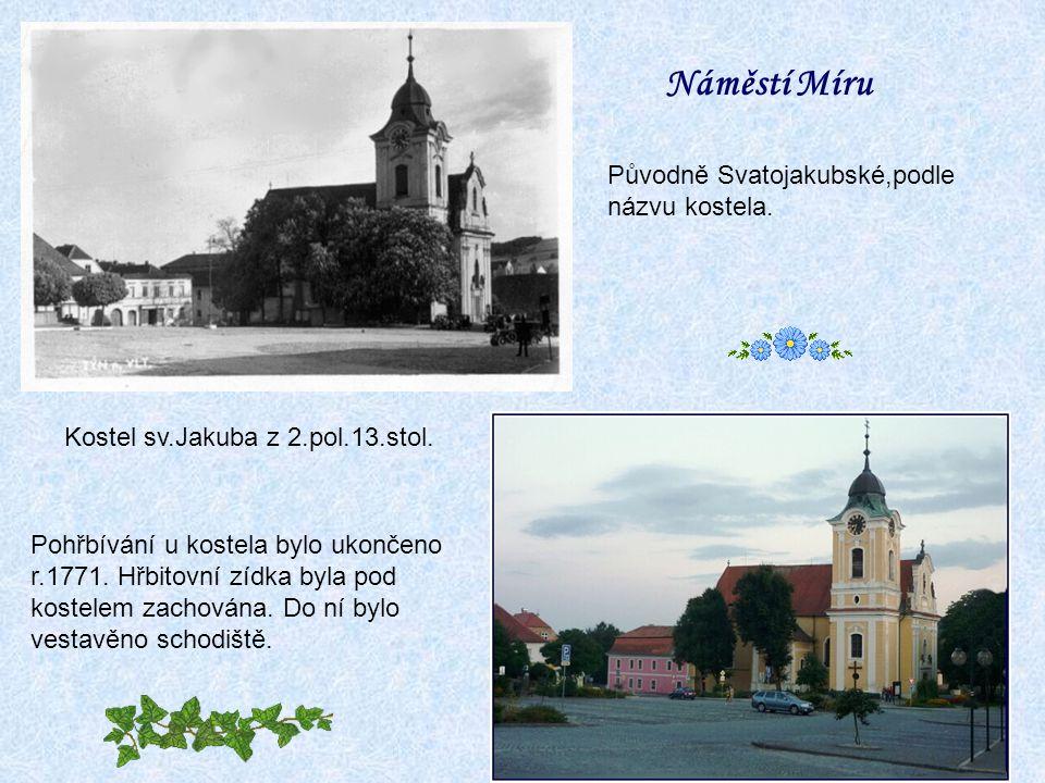 40tá létar.2010 r.1753 došlo k rozšíření kostelní lodi a přístavbě věže.
