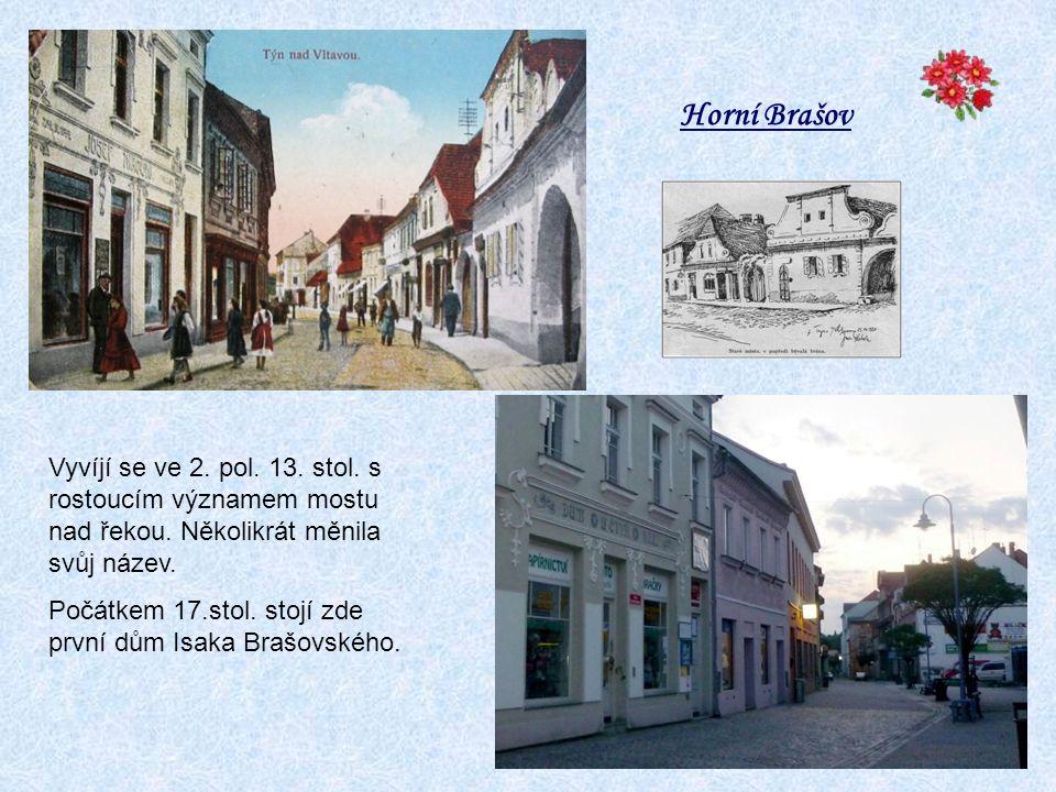 pozůstatky renesančního mostu a valů, které chránily původní hrad Čabelických do r. 1601 Bedřichovy sady. Nyní je zde otáčivé divadlo od r.1983