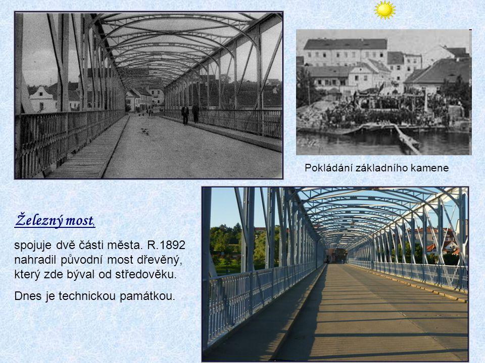 Horní Brašov Vyvíjí se ve 2. pol. 13. stol. s rostoucím významem mostu nad řekou. Několikrát měnila svůj název. Počátkem 17.stol. stojí zde první dům
