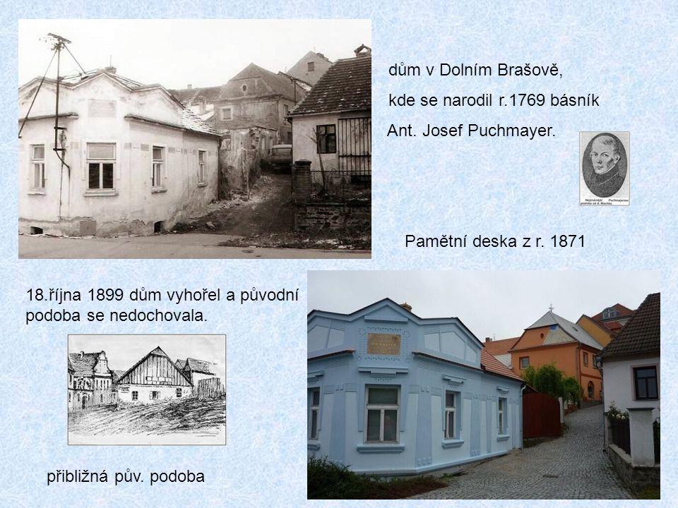 Dolní Brašov Domky u řeky byly zbourány v 60 tých letech 20. stol. před napouštěním Orlické přehrady.