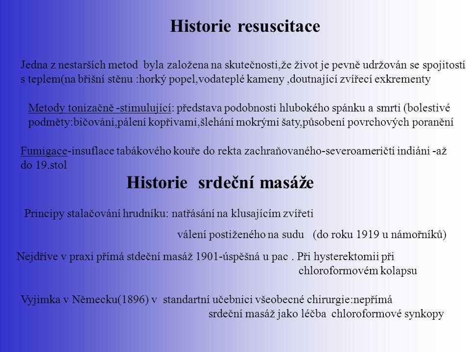 Současnost KPR Vychází z : Consensus on Science puplikovaný v ILCOR v listopadu 2005 ERC - z tohoto dokumentu vychází při formulování Nových doporučených postupů V prosinci 2005