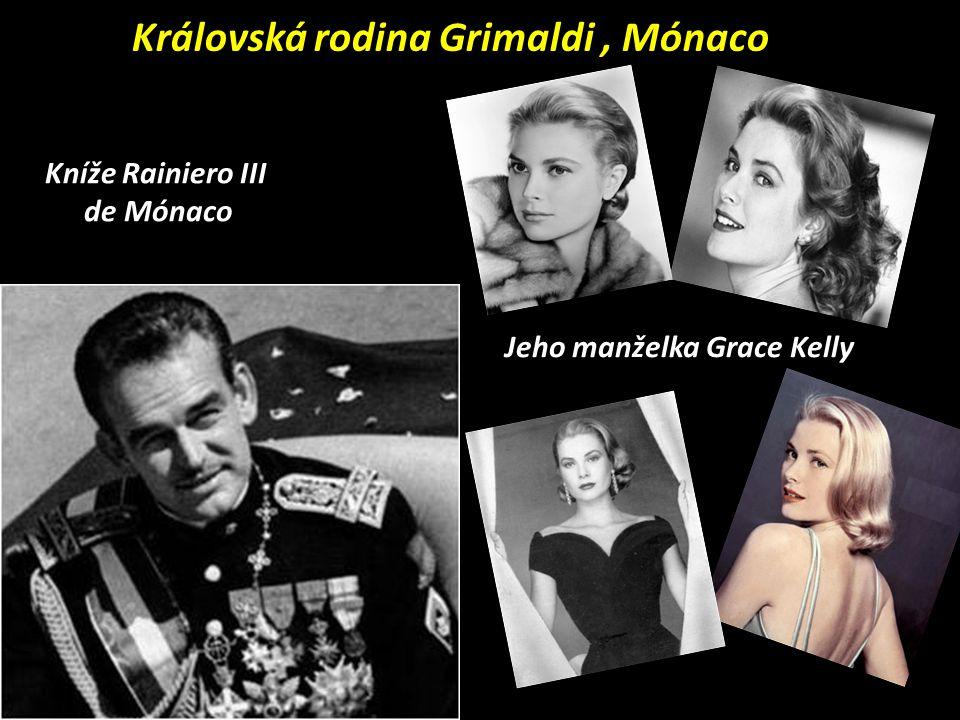 Knížecí trůn vládnoucí rodiny Grimaldi