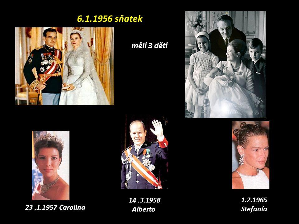 Kníže Rainiero III de Mónaco Jeho manželka Grace Kelly Královská rodina Grimaldi, Mónaco