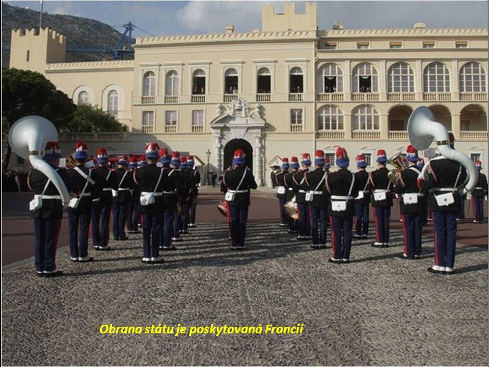 Monako nemá armádu, ale vlastní pobřežní hlidku