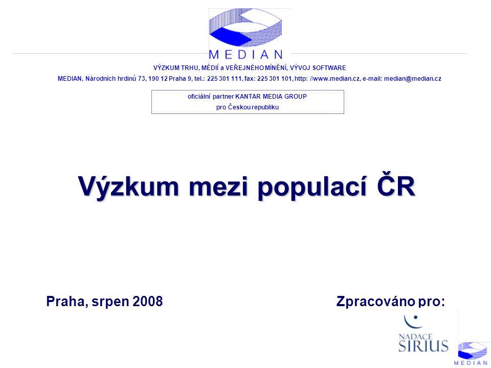 POPULACE ČR - 32 - Závažnost problémů II.N = 1203 C08.