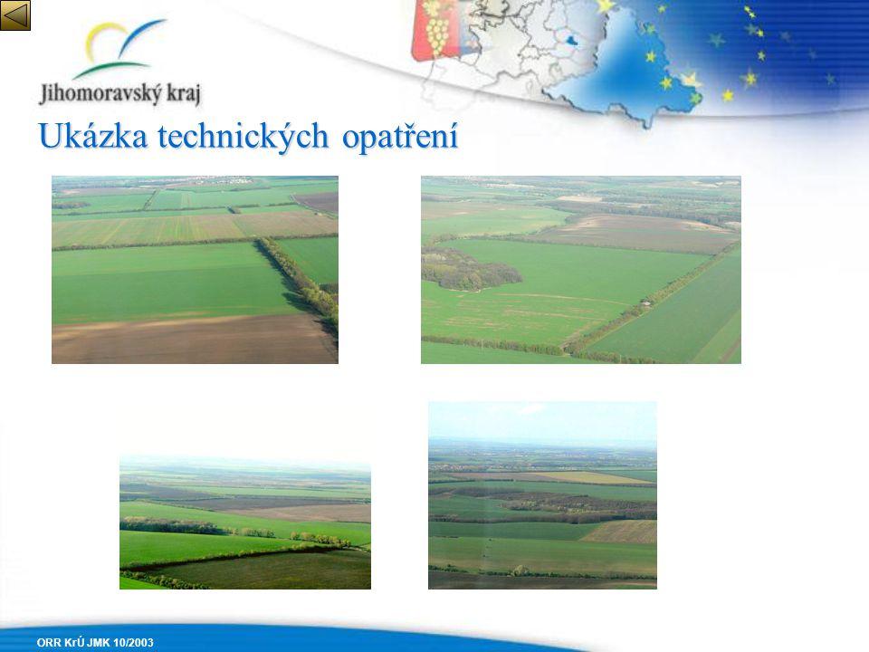 ORR KrÚ JMK 10/2003 Ukázka technických opatření