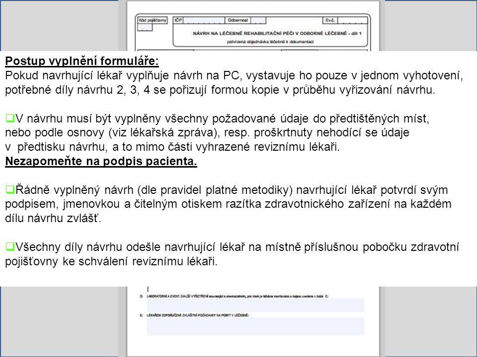FORMULÁŘE www.hamzova-lecebna.cz
