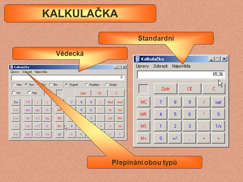 Panel nástrojů MALOVÁNÍ Panel barev