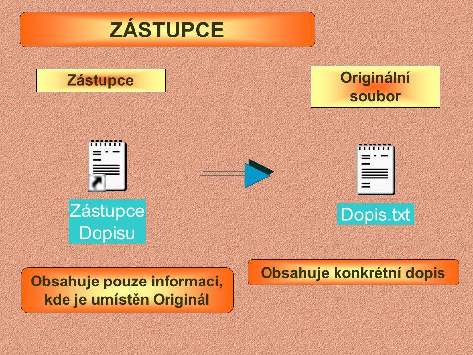Zobrazení Podrobností o souborech v okně Průzkumníka V nabídce Zobrazit vybereme Podrobnosti