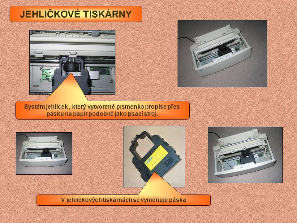 tiskárna tiskne informace na papír scanner (skener) převádí obraz nebo text do počítače modem umožňuje propojení počítačů pomocí telefonní linky zvuko