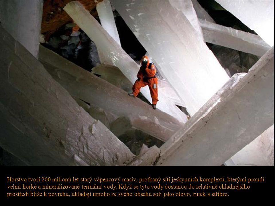 Horstvo tvoří 200 milionů let starý vápencový masiv, protkaný sítí jeskynních komplexů, kterými proudí velmi horké a mineralizované termální vody. Kdy