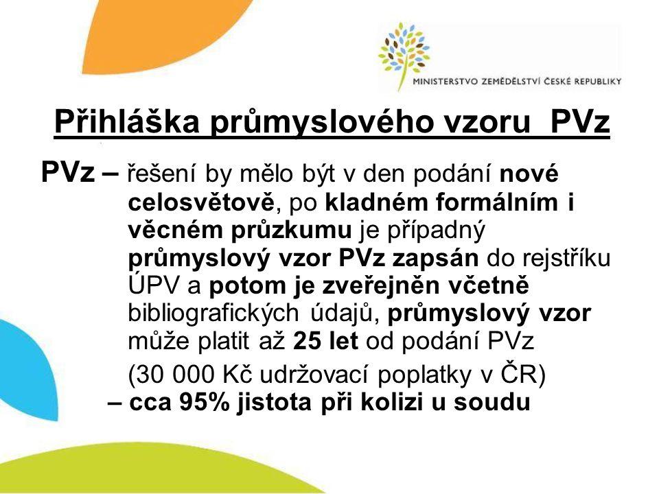Rozdíly mezi PV a PUV Kategorie PV: výrobek (sloučenina), způsob, zařízení, použití Kategorie PUV: výrobek (sloučenina), zařízení, použití Z některých PV (výrobek-sloučenina, zařízení, použití) lze do 10 let od udělení patentu odbočit na PUV se stejnou prioritou !