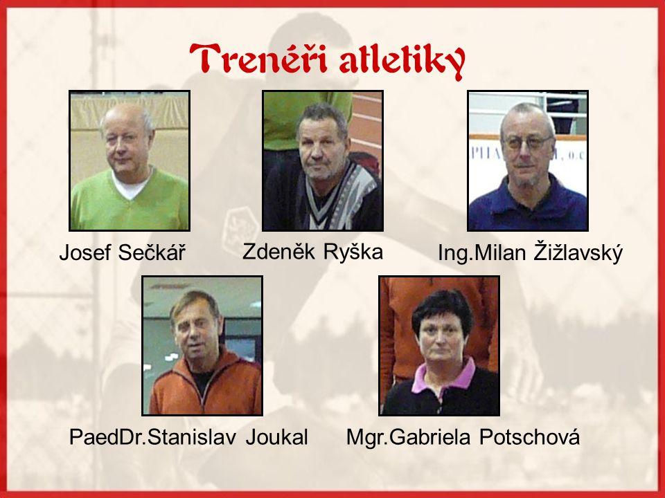 K nejlepším atletům, kteří studovali na SG, patří: •Šárka Kašpárková •Svatoslav Ton •Lukáš Souček •Roman Oravec •Jiří Křehula •Roman Novotný...