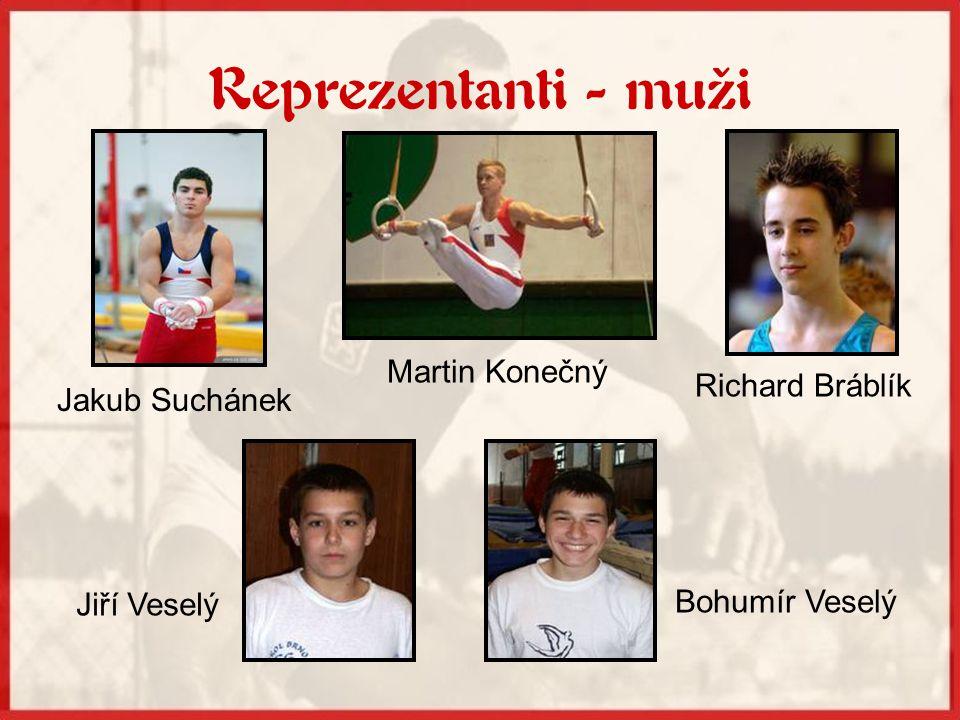 Trenéři sportovní gymnastiky Manželé Vyzinovi Jan Caska Kateřina Janečková