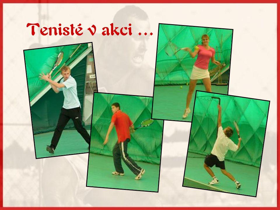 Kde trávíme volný čas … •v zimní sezóně v tenisové hale ŽLTC Brno •v létě na kurtech TK Medlánky a ŽLTC Brno