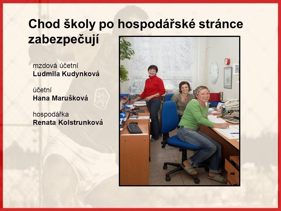 Vedení školy Mgr.Radek Klimeš zástupce pro sport Mgr.