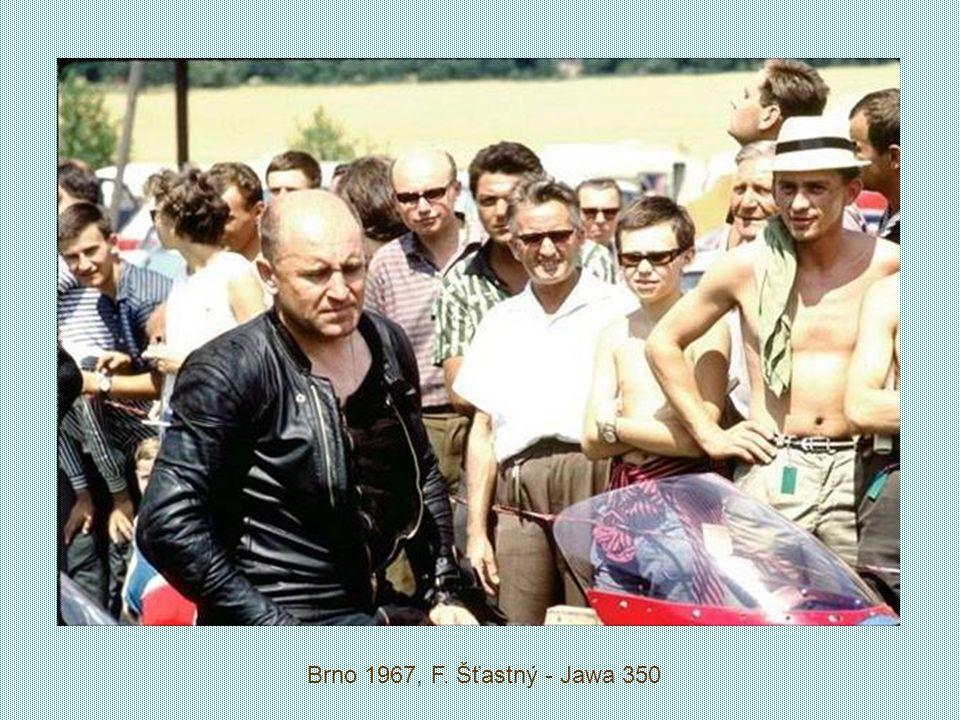 František Šťastný East Germany Grand Prix Sachsenring Circuit 17. července 1966 500 ccm